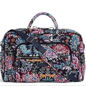 Vera Bradley Weekender Travel Bag ~ Fox Forest NWT